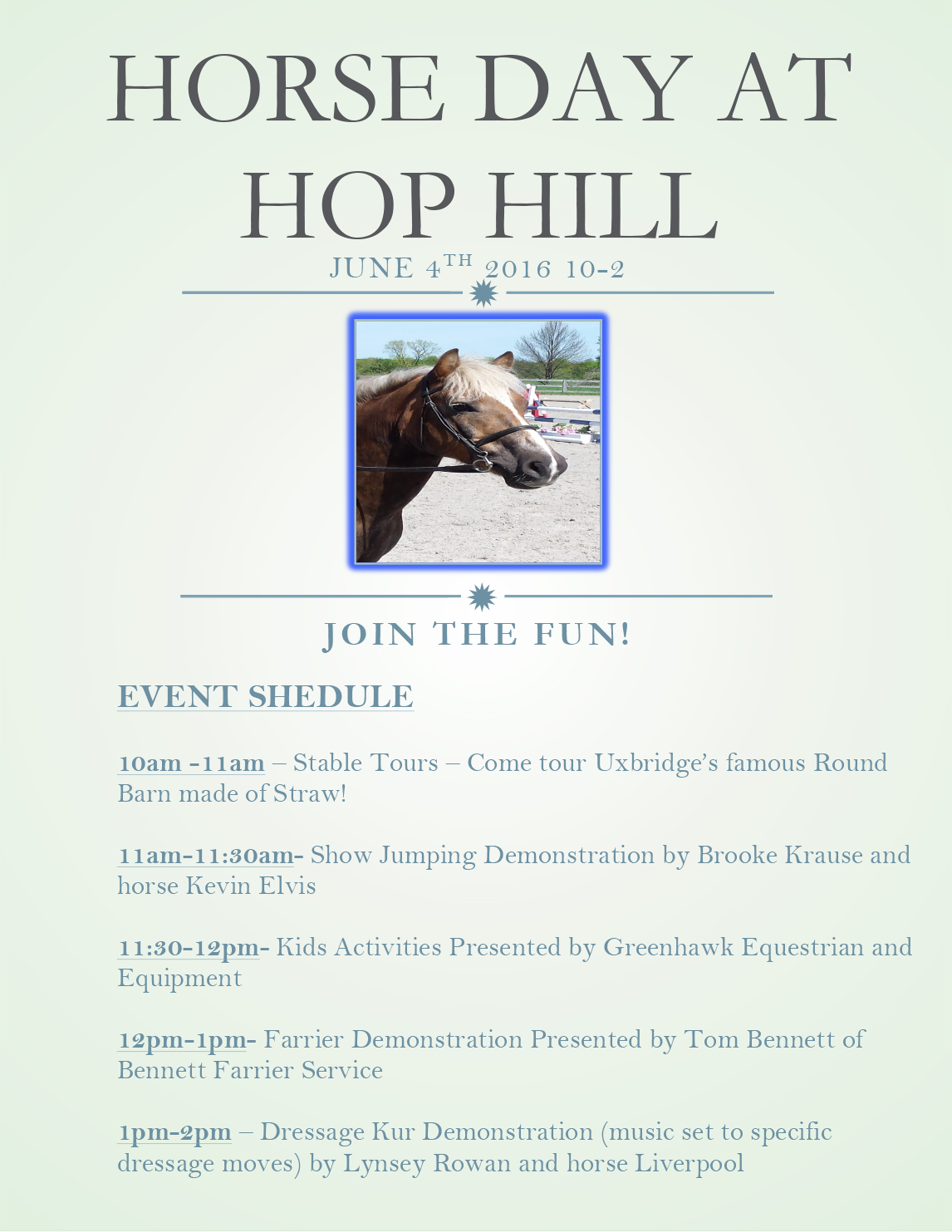 Hop Hill Stables